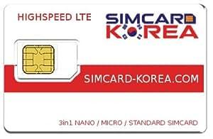 LTE Simcard Korea