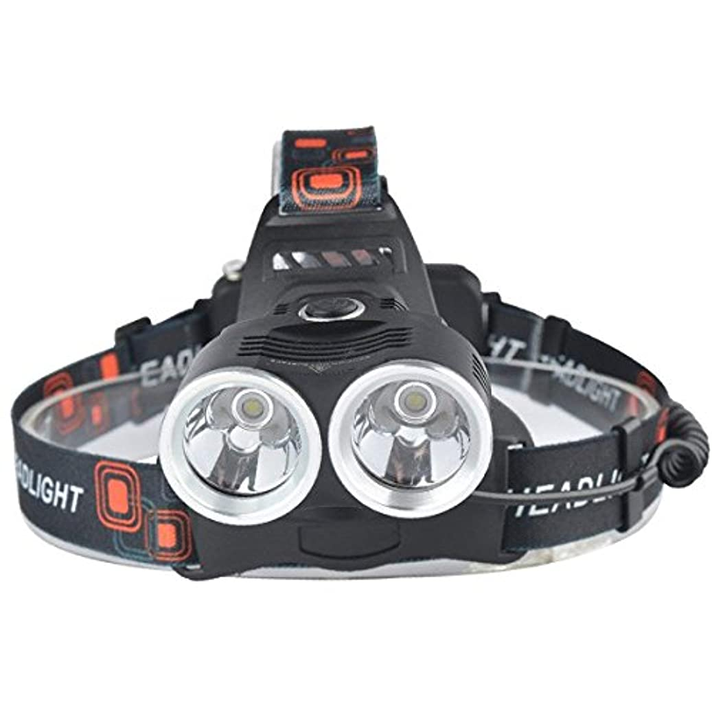 下向き賞賛する写真1000ルーメン3モードt6 ledズーム可能な調整フォーカスヘッドライトヘッドランプ防水ライトトーチキャンプ用サイクリング作業狩猟釣り乗馬