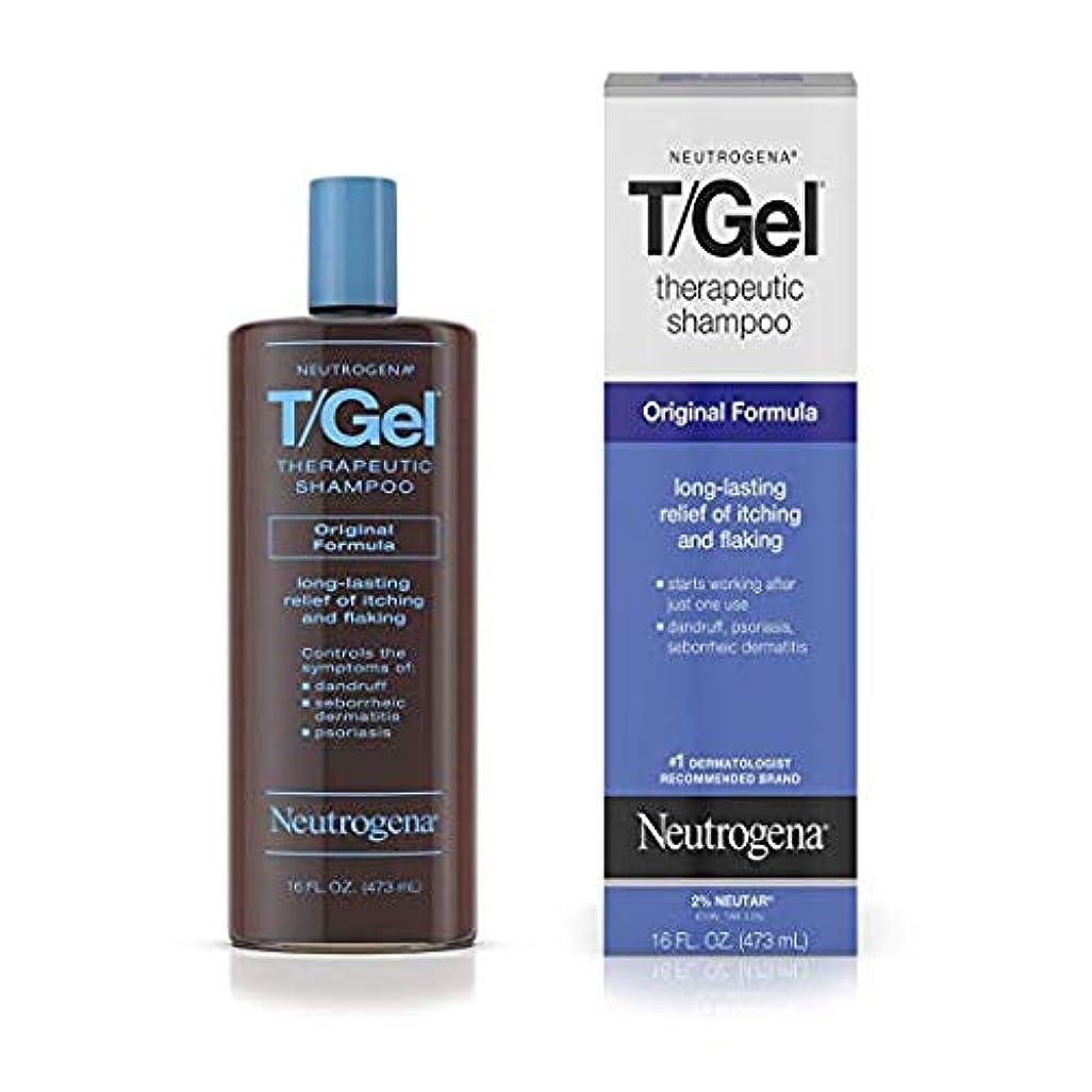 ペフ謎めいたミットNeutrogena T/Gel Therapeutic Shampoo Original Formula [並行輸入品]