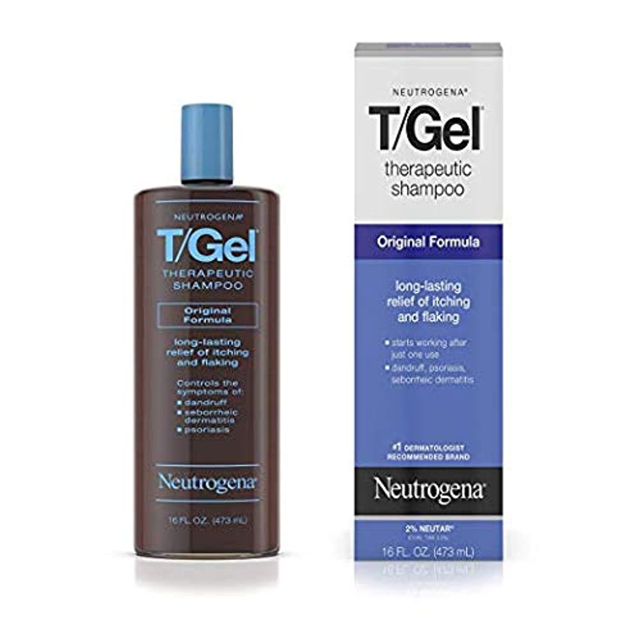 深い織機上下するNeutrogena T/Gel Therapeutic Shampoo Original Formula [並行輸入品]