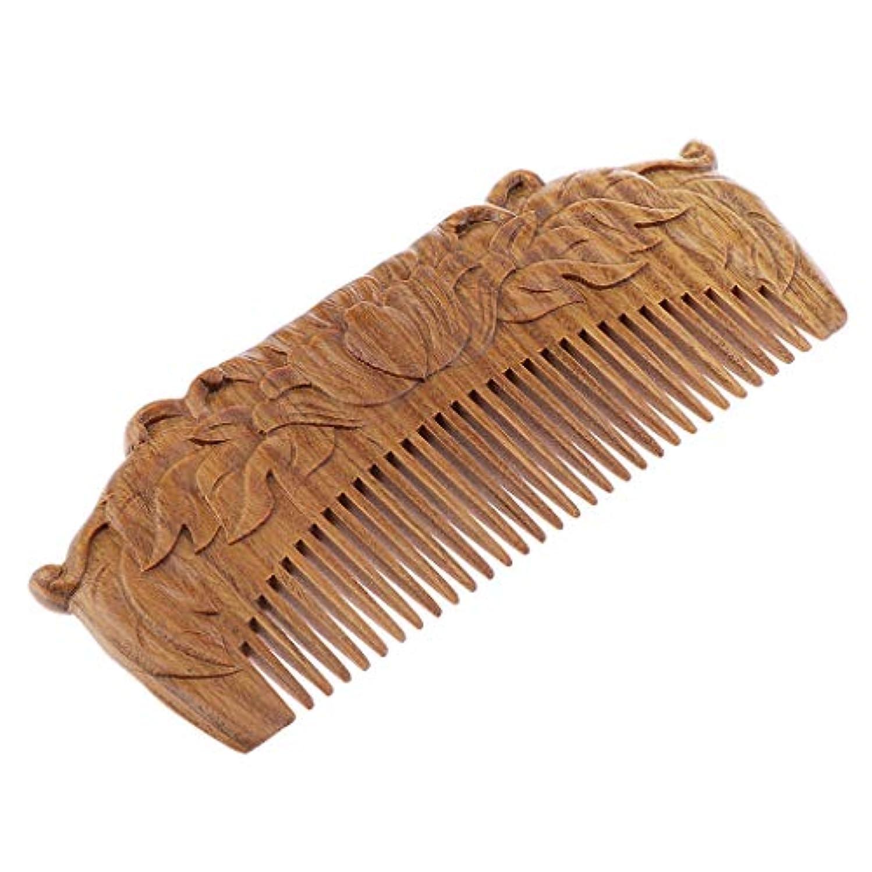 マザーランド考慮学習T TOOYFUL 木の毛の櫛静的なマッサージの自然な心配のブラシの規則的な歯手作り無し
