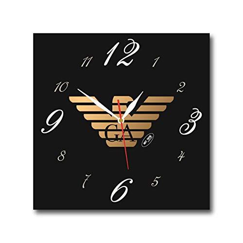 Giorgio Armani 11'' 壁時計( ジョルジオアルマーニ)あなたの友人のための最高の贈り物。あなたの家のためのオリジナルデザイン