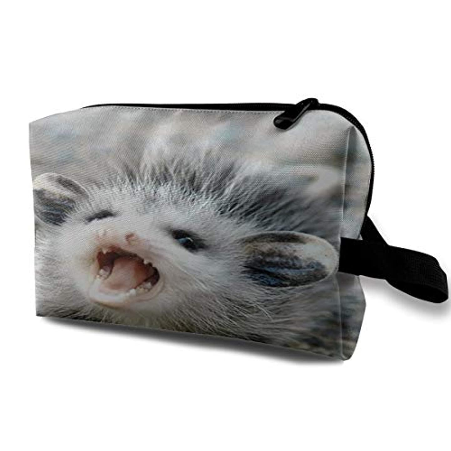 ポットスパン責任Baby Possum 収納ポーチ 化粧ポーチ 大容量 軽量 耐久性 ハンドル付持ち運び便利。入れ 自宅?出張?旅行?アウトドア撮影などに対応。メンズ レディース トラベルグッズ
