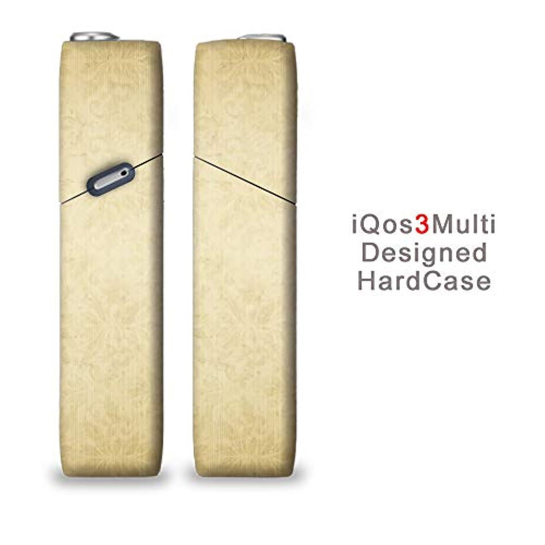 完全国内受注生産 iQOS3マルチ用 アイコス3マルチ用 熱転写全面印刷 ダマスク 加熱式タバコ 電子タバコ 禁煙サポート アクセサリー プラスティックケース ハードケース 日本製