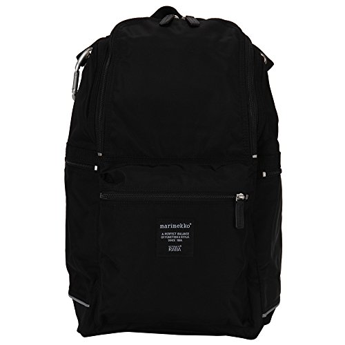 Marimekko マリメッコ BUDDY ナイロンバックパック 026994 black ブラック 北欧 リュック バッグ並行輸入品