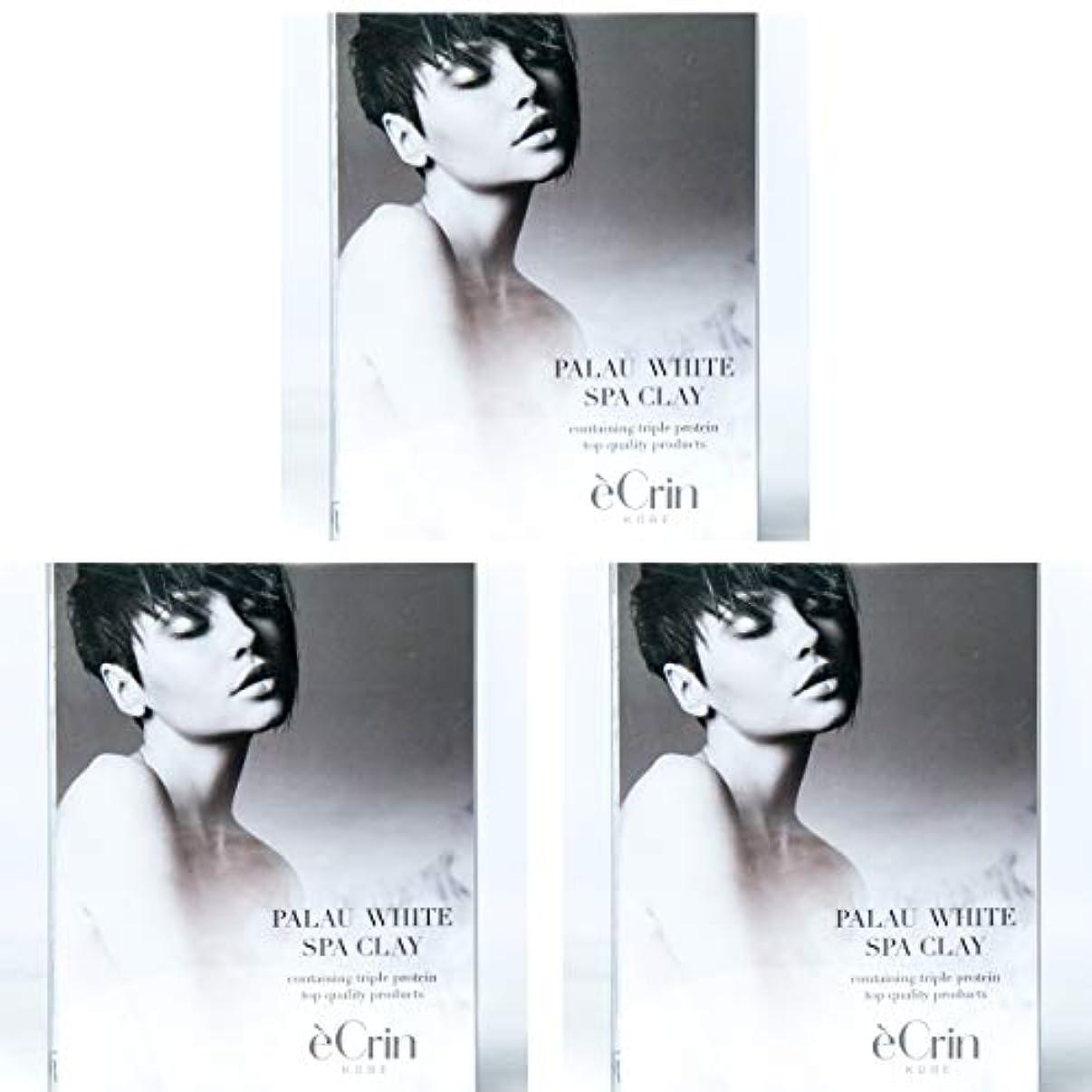 お嬢急襲であることパラオホワイト スパクレイ 入浴用化粧料 ノンシリコン 50g 5包3箱セット