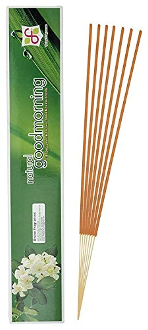不毛の独占塩辛いDivine Fragrances - Natural Good Morning - Incense Stick - Pack of 120 Sticks