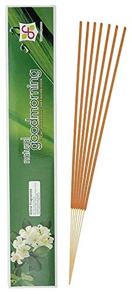 玉走る俳句Divine Fragrances - Natural Good Morning - Incense Stick - Pack of 120 Sticks
