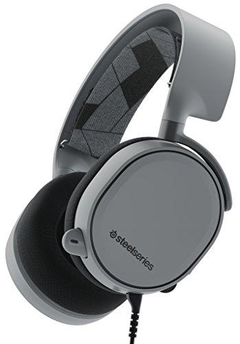 【国内正規品】密閉型 ゲーミングヘッドセット SteelSeries Arctis 3 Slate Grey 61437