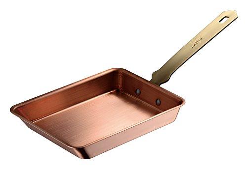 オークス ameiro エッグパン 銅 卵焼き 12cm 錫メッキなし COS8001