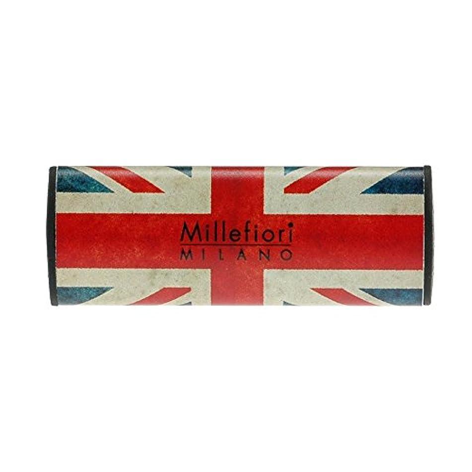巧みなラグマイルMillefiori カーエアフレッシュナー FLAG サンダルベルガモット CDIF-G-001