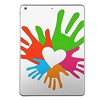 iPad mini mini2 mini3 共通 スキンシール retina ディスプレイ apple アップル アイパッド ミニ A1432 A1454 A1455 A1489 A1490 A1491 A1599 A1600 タブレット tablet シール ステッカー ケース 保護シール 背面 人気 単品 おしゃれ ラブリー カラフル ハート シンプル 002479