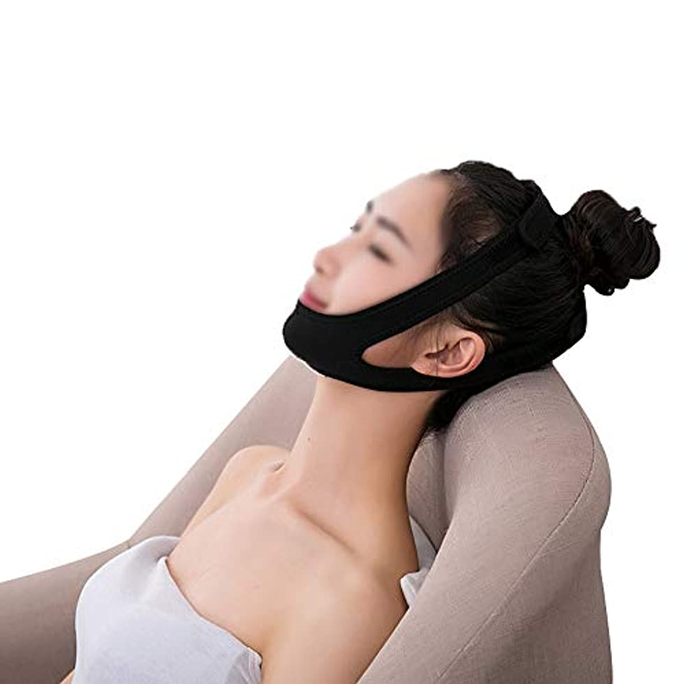 姿勢レプリカXHLMRMJ 引き締めフェイスマスク、術後リフティングマスクホーム包帯揺れネットワーク赤女性vフェイスステッカーストラップ楽器フェイスアーティファクト