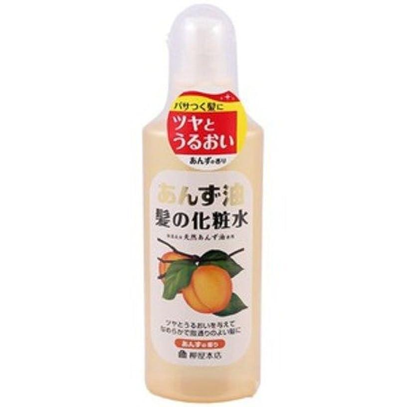 尊敬裕福なアニメーション柳屋 あんず油 髪の化粧水 170ml