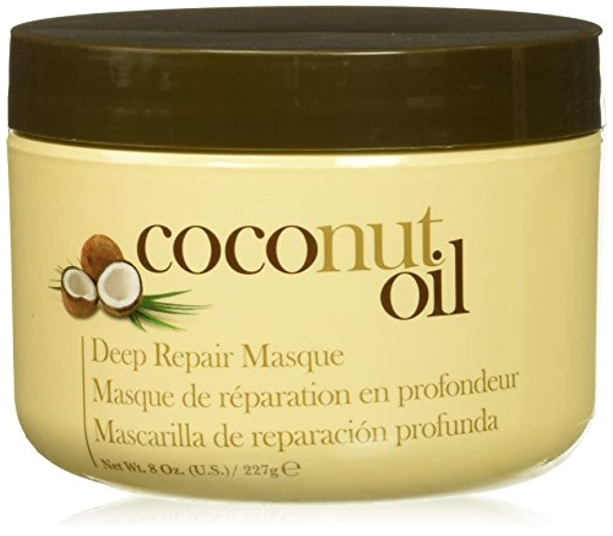 シャンプー書店家具Hair Chemist ヘアマスク ココナッツ オイル ディープリペアマスク 227g Coconut Oil Deep Repair Mask 1474 New York