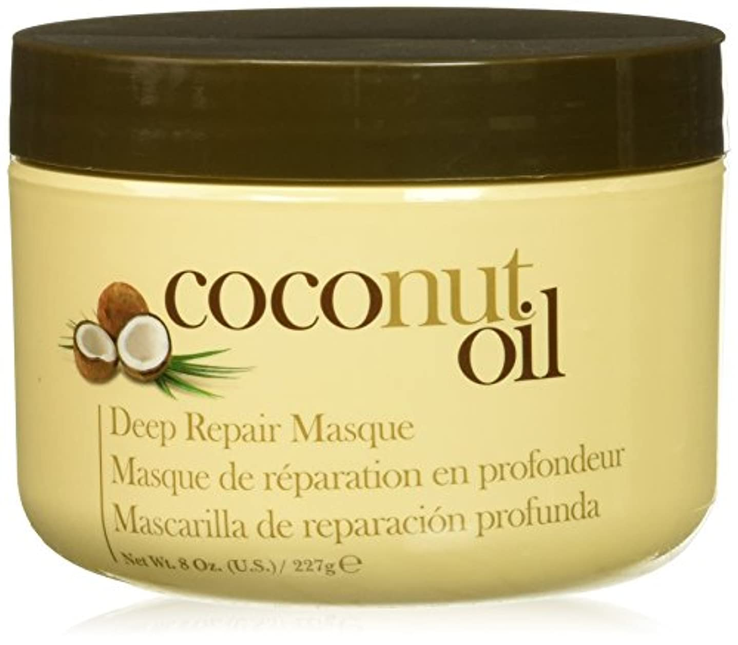 お気に入りアーサーコナンドイル作るHair Chemist ヘアマスク ココナッツ オイル ディープリペアマスク 227g Coconut Oil Deep Repair Mask 1474 New York