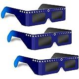 太陽日食メガネ 3枚セット