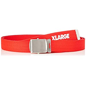 (エクストララージ)XLARGE SLANTED LOGO G.I BELT 01181009 RED ONE SIZE