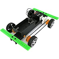(A) - FIRERO 1 Set Mini Powered Toy DIY Car Kit Children Educational Gadget Hobby Funny (A)