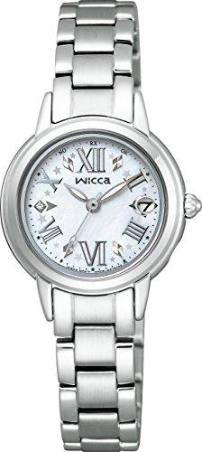 シチズン CITIZEN ウィッカ wicca ソーラーテック 電波時計 レディース腕時計 KL0-014-97