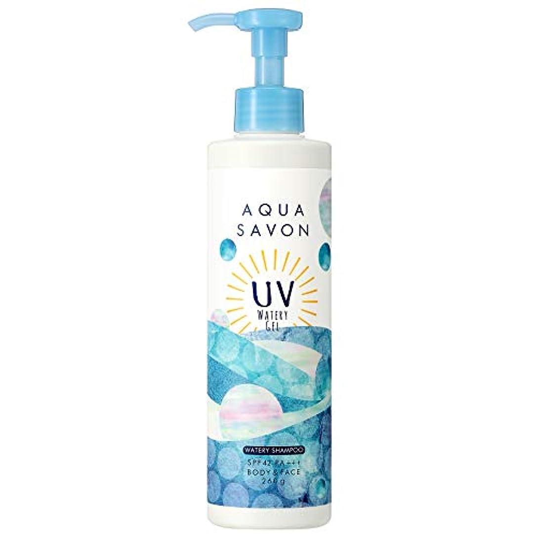 化学ストライド効率的にアクアシャボン UVジェル ウォータリーシャンプーの香り 19S 260g