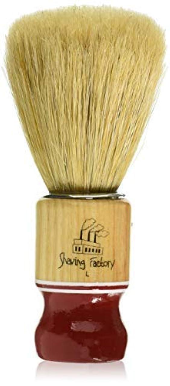 褒賞スカイ若さShaving Factory Shaving Factory Shaving Brush - Large [並行輸入品]