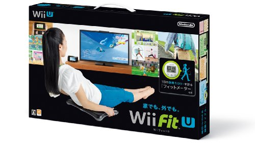 Wii Fit U バランスWiiボード (クロ) + フィ...