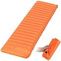 trietree Inflatable Sleeping Pad、ウルトラライトポータブル手動でを押しインフレータブルDamp ProofマットインフレータブルSleep Pad forバックパッキングキャンプハイキング旅行