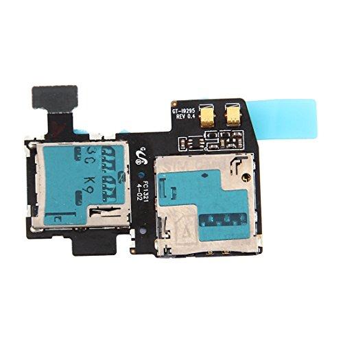 GのSIMとマイクロSDカードトレイの交換/交換 Galaxy S4 Active / i9295用交換/交換用カードコネクタ