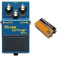 【9V電池DURACELL PROCELL 006P付】BOSS ボス BD-2 Blues Driver ボス コンパクト・エフェクター ブルース・ドライバー