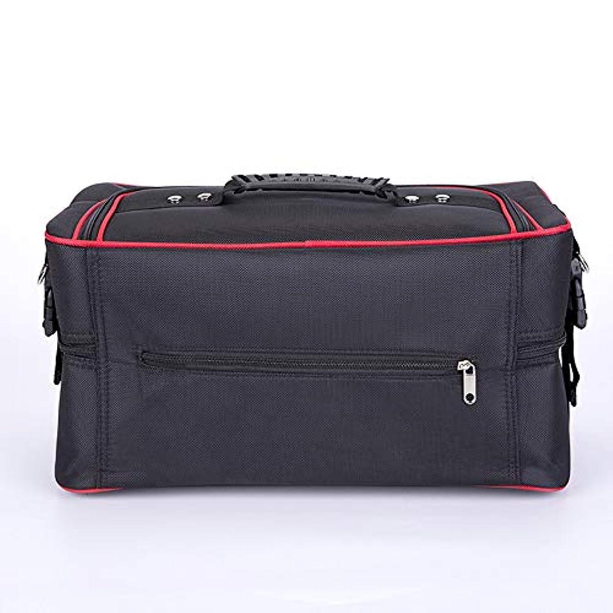 プランターリクルートマント化粧オーガナイザーバッグ ジッパーで旅行と毎日のストレージのための美容メイクアップのポータブルカジュアルメイク化粧品収納ケース 化粧品ケース