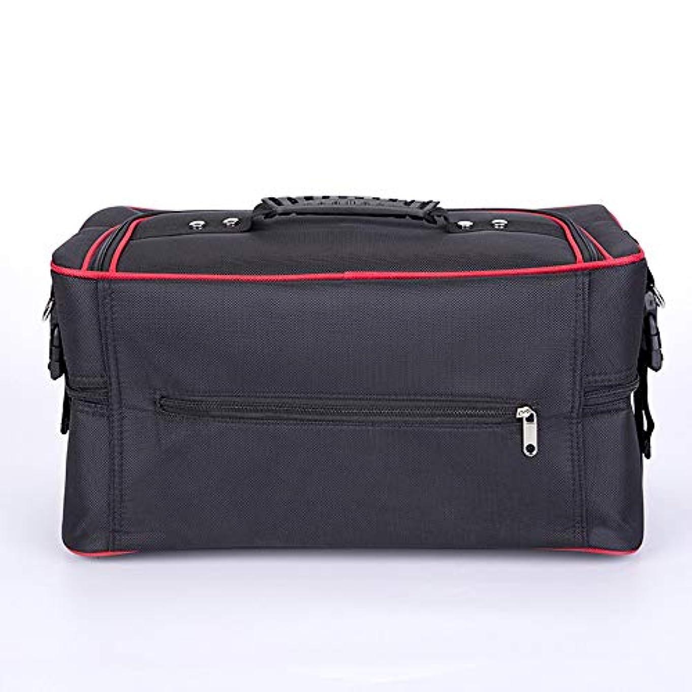 セメントり暖炉化粧オーガナイザーバッグ ジッパーで旅行と毎日のストレージのための美容メイクアップのポータブルカジュアルメイク化粧品収納ケース 化粧品ケース
