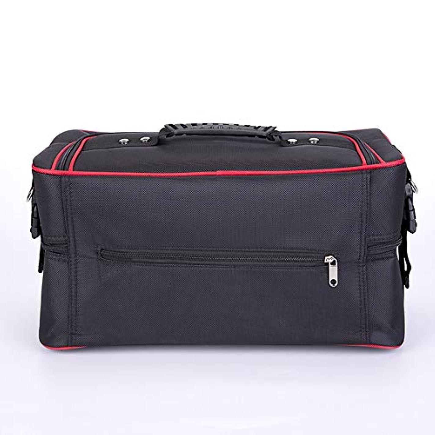 設計図ソート批判化粧オーガナイザーバッグ ジッパーで旅行と毎日のストレージのための美容メイクアップのポータブルカジュアルメイク化粧品収納ケース 化粧品ケース