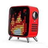 Divoom Tivoo Max Bluetoothスピーカー【日本正規代理店品】レトロテレビ型本格派スピーカー (RED)