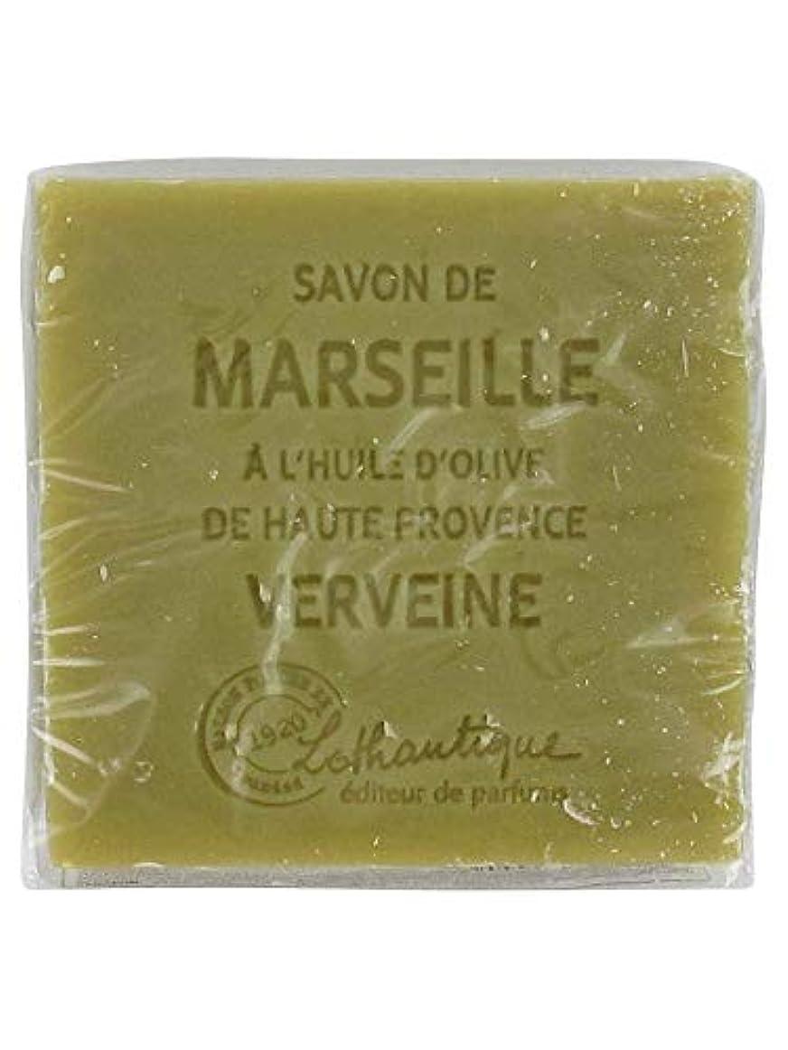 ハグ位置する朝食を食べるLothantique(ロタンティック) Les savons de Marseille(マルセイユソープ) マルセイユソープ 100g 「ベルベーヌ」 3420070038142