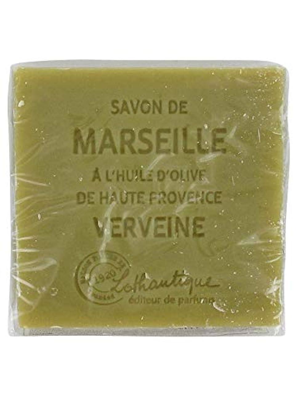 折る形状第三Lothantique(ロタンティック) Les savons de Marseille(マルセイユソープ) マルセイユソープ 100g 「ベルベーヌ」 3420070038142
