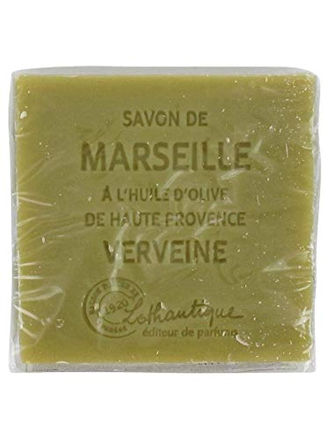 トイレヘリコプター階Lothantique(ロタンティック) Les savons de Marseille(マルセイユソープ) マルセイユソープ 100g 「ベルベーヌ」 3420070038142