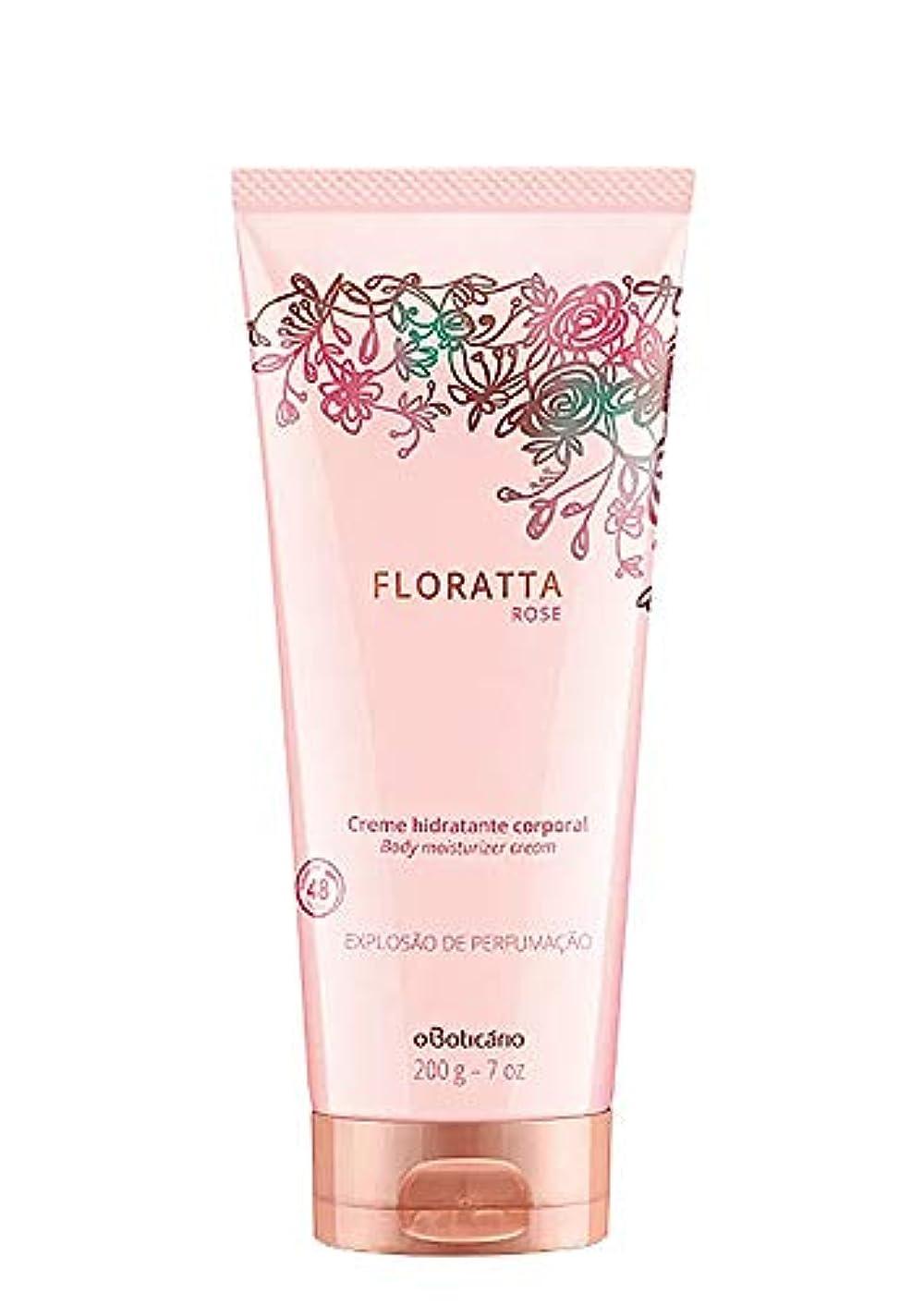 死表向き便利オ?ボチカリオ スキンクリーム フロラッタ ローズ boticario FLORATTA ROSE CREAM HIDRATANTE 200g