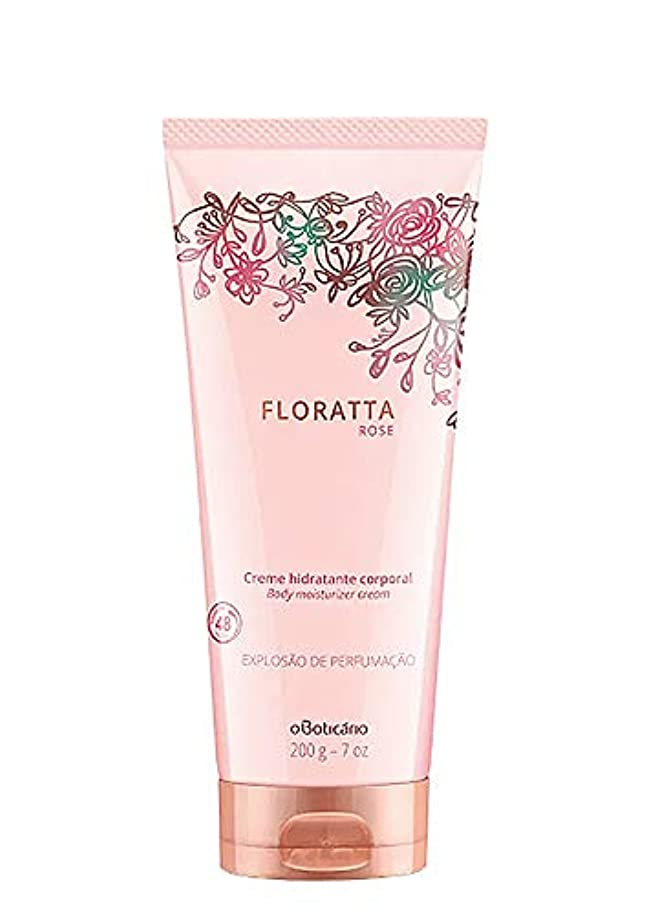 側面パンフレット実験室オ?ボチカリオ スキンクリーム フロラッタ ローズ boticario FLORATTA ROSE CREAM HIDRATANTE 200g