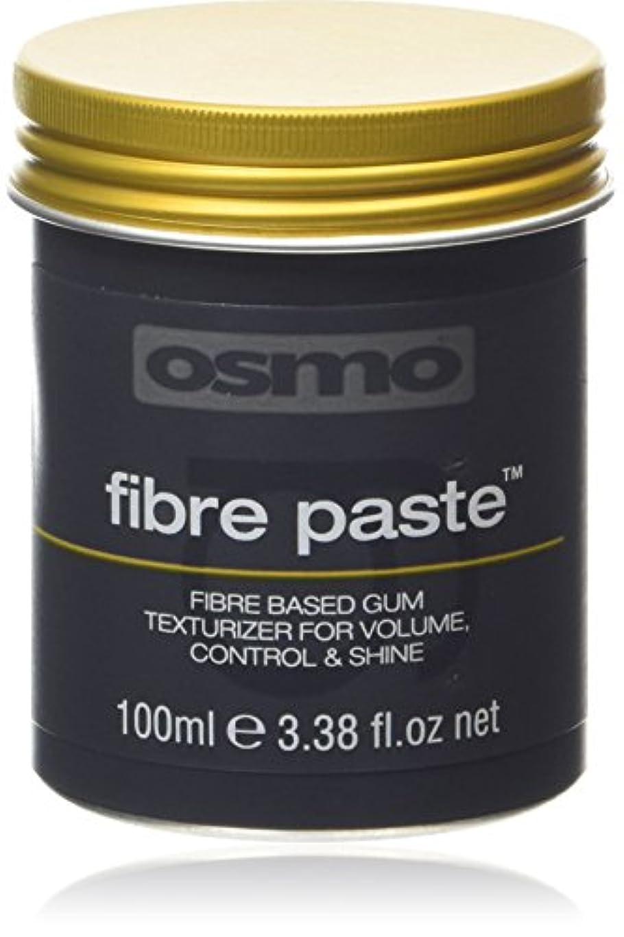 ジェム意味のある振りかけるアレス OSMO グルーミングヘアワックス ファイバーペースト 100ml
