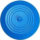 【veesee】風呂栓 シンク 台所 浴室 流し排水栓 水漏れストッパー (ブルー)