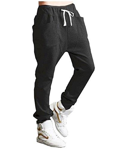 [해외](fesley) 남성 루엘 팬츠 요가 트레이닝 복 댄스웨어/(Fesley) Men`s Saruel Pants Yoga Sweat Pants Dance Wear