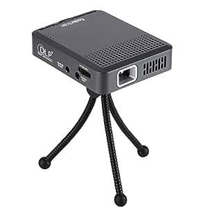Koolertron 小型LEDプロジェクター/ミニ携帯式  HDMI/USB/SD対応 手のひらサイズ リモコン付き HD小型モバイルプロジェクター iPod/iPhone/ipad 、スマホ、DVDプレイヤー、ゲーム機、ビデ  オカメラに接続可能!