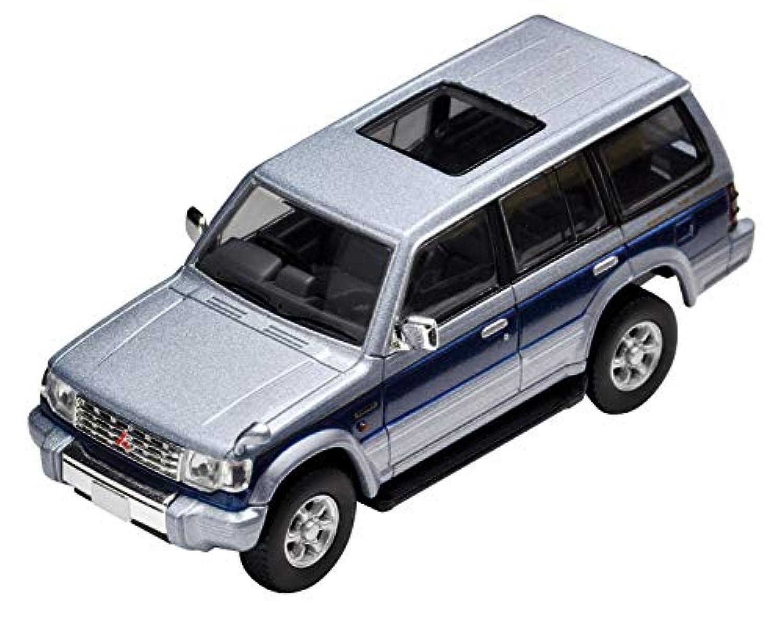トミカリミテッドヴィンテージ ネオ 1/64 LV-N189b 三菱 パジェロ ミッドルーフワイド スーパーエクシードZ 銀/青 (メーカー初回受注限定生産) 完成品