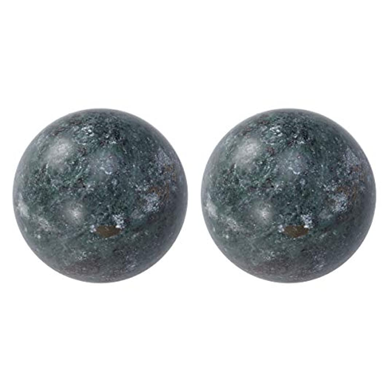 真鍮かご濃度Healifty 中国 マッサージボール ボールを鍛える運動マッサージボール ハンドエクササイズセラピーボール 2個入