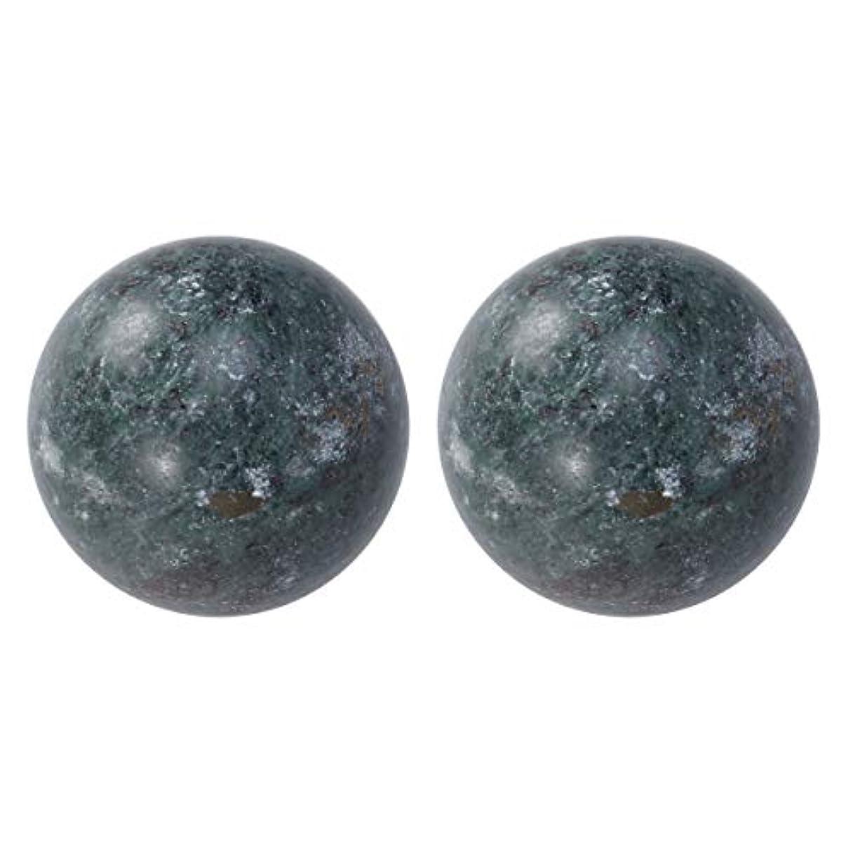惑星幻影方法SUPVOX 高齢者ヘルスケアボール玉手ボール健康運動ボール老人用2個(ブラック)