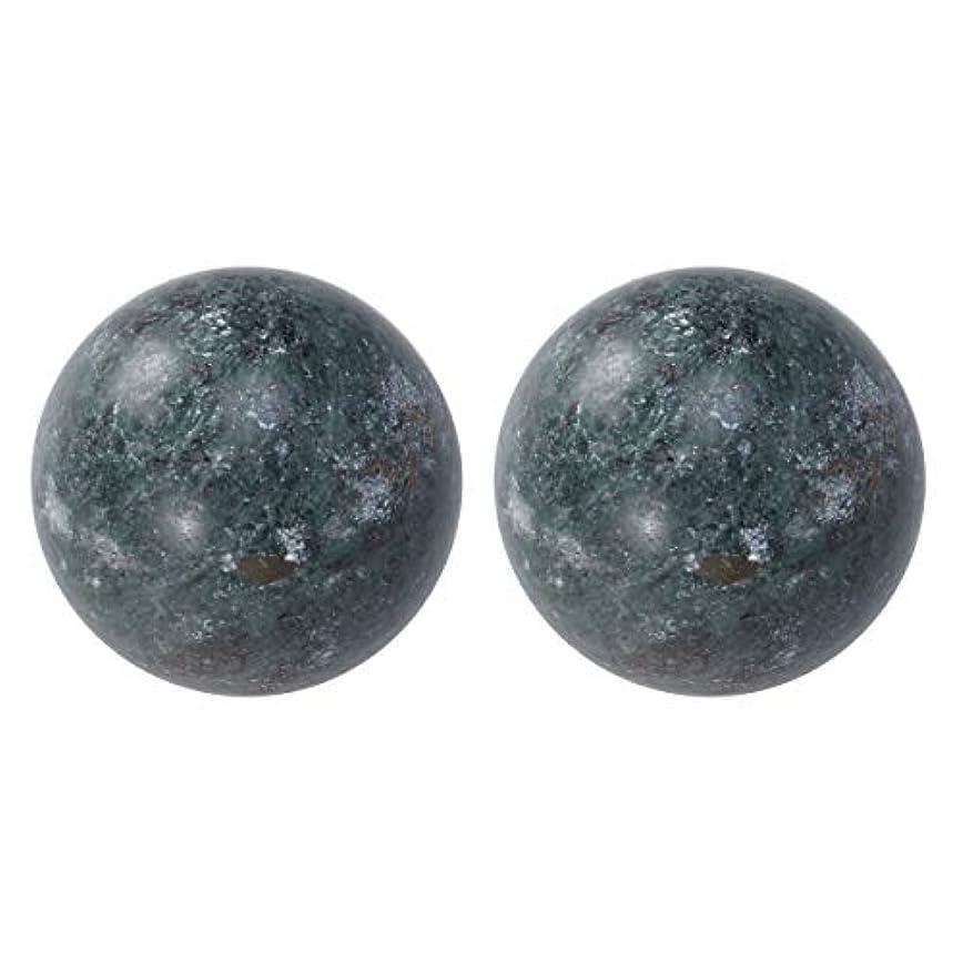 できるあざ受け入れたSUPVOX 高齢者ヘルスケアボール玉手ボール健康運動ボール老人用2個(ブラック)