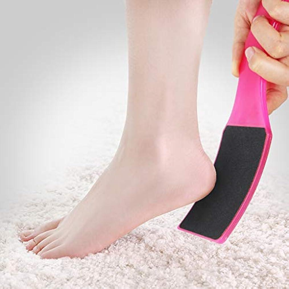 キャプテンブライ小売柔らかいフットツール、デッドスキン、両面ラフ摩擦に加えて、肌をきれいに、家庭用、男女兼用にハングアップすることができます。,Pink