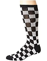 [VANS(バンズ)] メンズソックス?靴下 Checkerboard II Crew Black/White Check 6.5-9 Men's Shoe Size (24.5-27cm) One Size