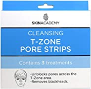 Skin Academy T-Zone Pore Strips, 3 Treatments, 3 count